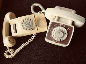 Vintage Rotary Dial Telephones