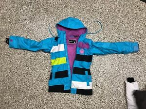 Girl ski/board jacket size SMALL by Nomus