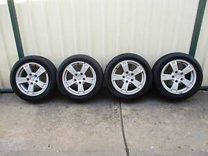 HOLDEN VY S PACK FACTORY ALLOY WHEELS-VT VX VZ COMMODORE SS/SV6 Bossley Park Fairfield Area Preview