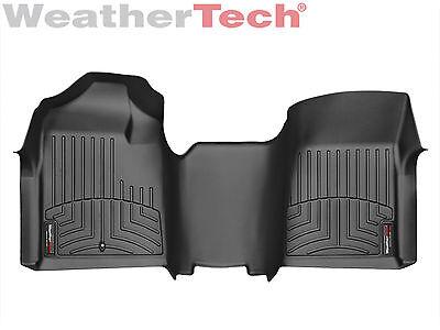 Weathertech Floor Mats Floorliner Silverado Sierra Regular Cab 1St Row   Black