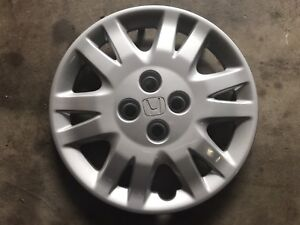 Honda Civic hubcaps 15in