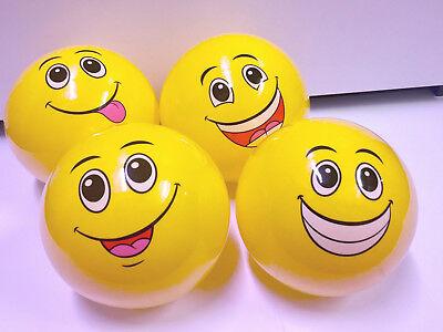 fach sortiert - leuchtend gelb -   (Smiley-bälle)