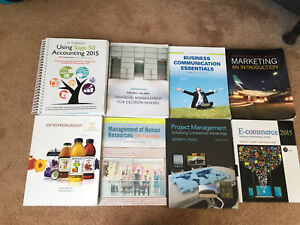 Business Administration Textbooks (Good Condition)