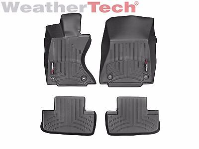WeatherTech Floor Mats FloorLiner for Lexus RC w/ AWD - 2015-2019 - Black