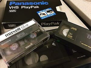 Professional video tape to digital conversion