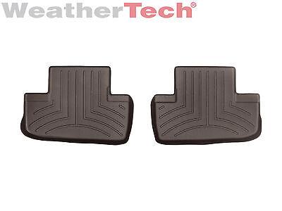 WeatherTech Floor Mats FloorLiner for Lexus RC - 2015-2017 - 2nd Row - Cocoa