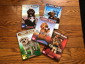 Set of 5 Puppy Place Books