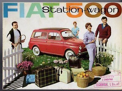 INTERMOTOR FIAT 500 Giardiniera 1962-74 600 T 1967 NEW BOXED IGNITION CONDENSER