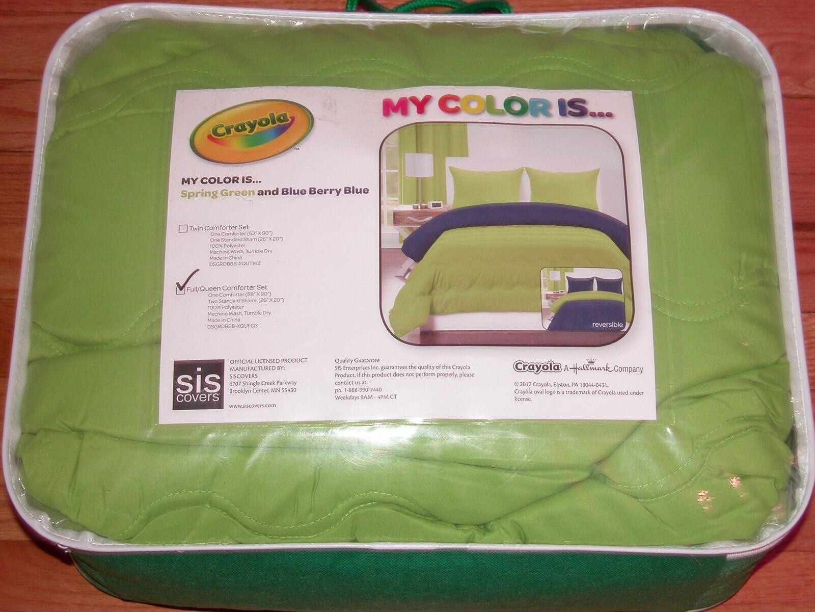 Crayola Pointillist Pansy Comforter Set Full Queen For Sale Online Ebay