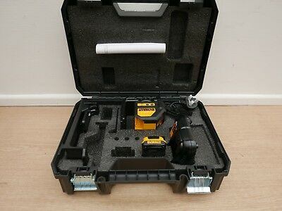 DEWALT DCE088D1G 10.8V XR SELF LEVEL GREEN CROSS LINE LASER 2 AH IN TSTAK CASE