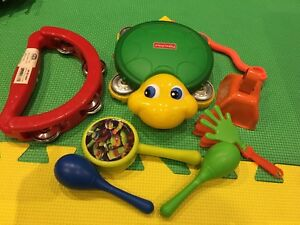 Random music instruments for toddlers