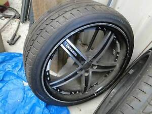 20 INCH TYRES AND RIMS  BA Ford Falcon Walloon Ipswich City Preview