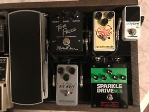 Soul Food and Sparkle Drive Mod  overdrive pedal