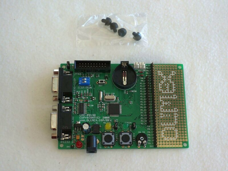 NXP LPC2138 (ARM) Prototype Board, Dual RS232