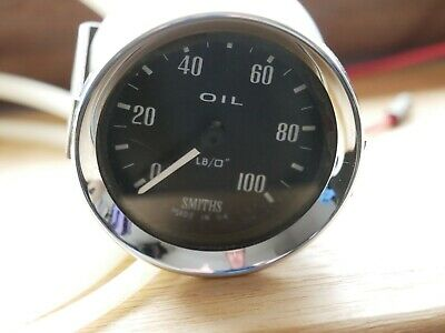 Smiths Oil Pressure gauge - 0 to 100PSI