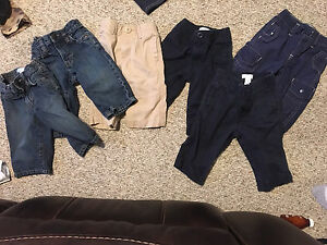 6 pairs of 6-12 month pants