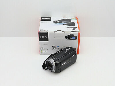 SONY HANDYCAM HDR-PJ340E PROJECTOR CAMCORDER BOXED HD HIGH DEFINITION 16GB SSD