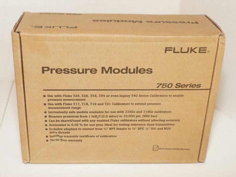FLUKE 750P29 HIGH PRESSURE MODULE 0-3000 PSI 0-200 BAR 0 TO 20 MPA NEW