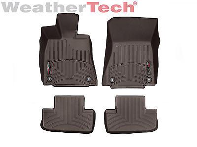 WeatherTech FloorLiner Car Floor Mats for Lexus RC w/ RWD 2015-2019 Cocoa