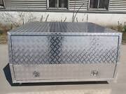 Jack off Alloy Checker Plate Canopy with two windows aluminium Campbellfield Hume Area Preview
