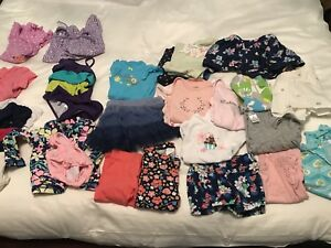 Girls summer lot of clothes. Size 6-9M.