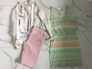American Eagle & Garage Lot (size S, 4)
