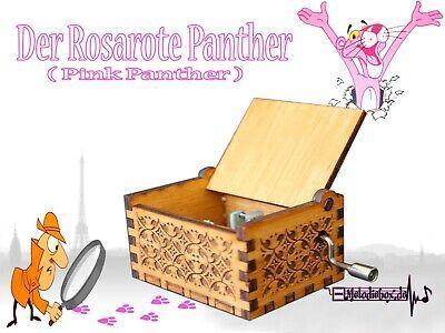 Der Rosarote Panther Pink Panther Spieluhr Musikuhr Musicbox Spieldose Neu  - Pink Music Box