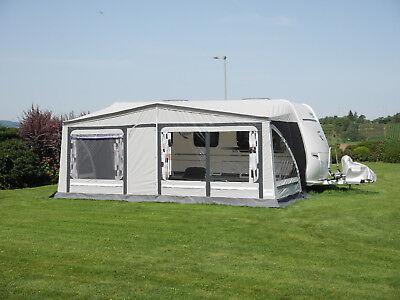 Vorzelt Wohnwagen Reisezelt Zelt Camping ELBA Gr. 07 911-950cm HERZOG Preishit!!