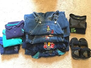 3-4 years boys clothes lot for fall 3T