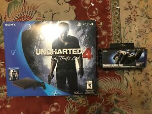 PS4 Slim 500gb - 2 controllers - 2 games
