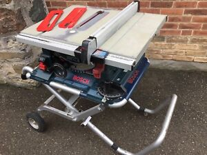 "10"" Bosch Table Saw"