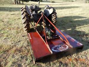 TE 20 Tractor & implements - diesel this model - rare find