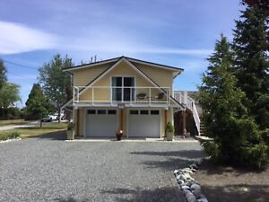 **FABULOUS OCEANFRONT 1BR FOR YOU IN COMOX from NOV. 1**