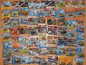 Lots of Lego polybag sets for sale! Tranmere Campbelltown Area Preview