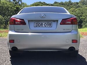 Lexus IS250 2008 excellent condition Mullumbimby Byron Area Preview