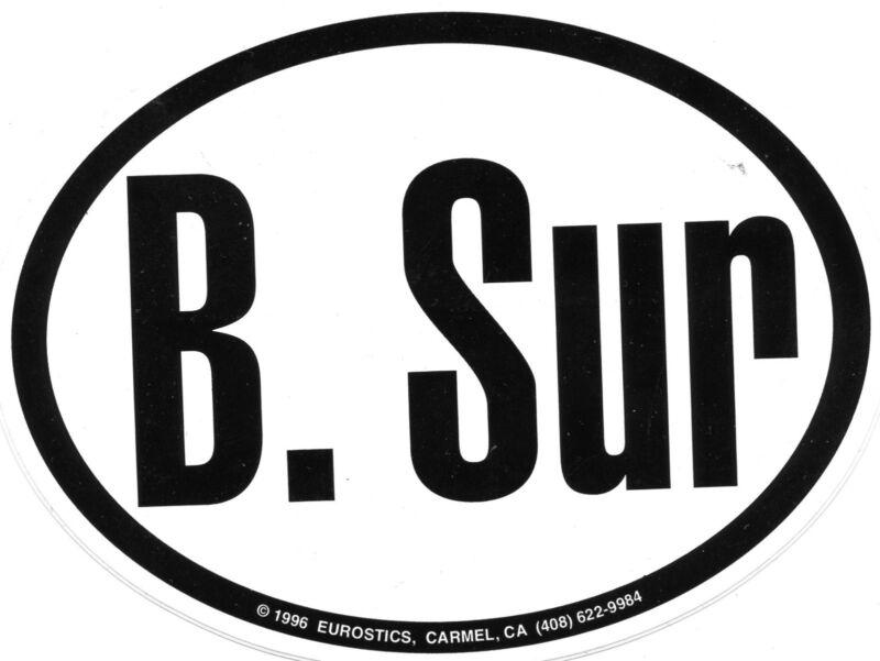 B Sur Bumper sticker