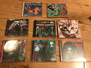 Lot of 8 White Zombie CD's MINT