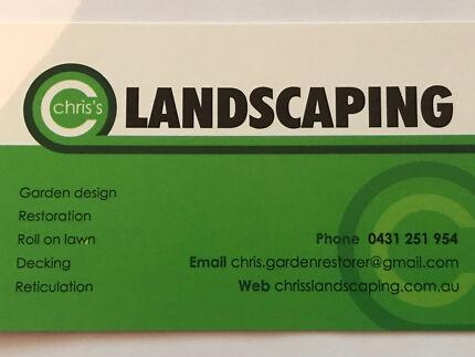 Chris's landscaping