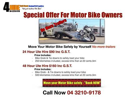 MotorCycle Bike Towing Move Your Own Bike Transport Harley Honda Burleigh Heads Gold Coast South Preview