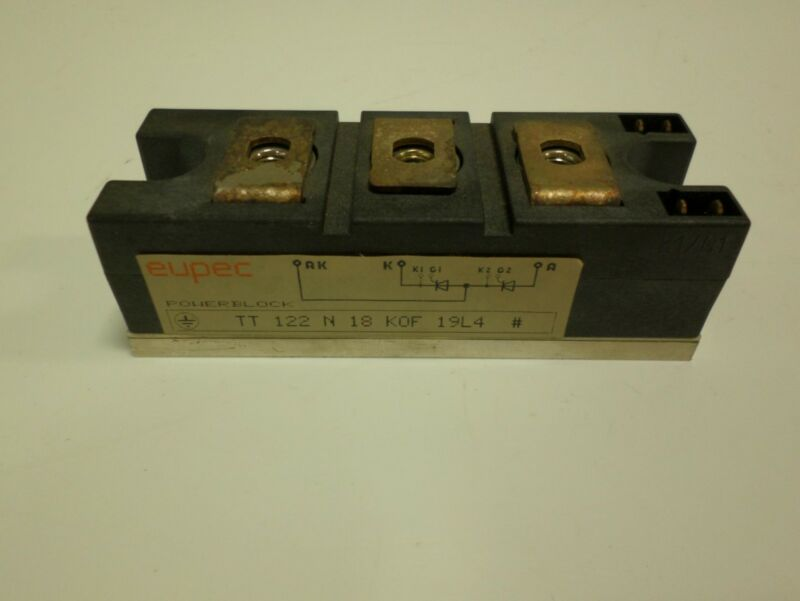EUPEC POWERBLOCK THYRISTOR MODULE  H-3289