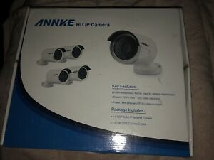 New ANNKE VIDEO RECORDER AND 4 CAMERAS