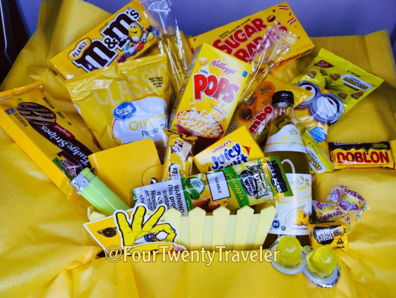 420 Munchies Color Box - Yellow 💛