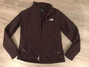 Women's purple north face jacket size small