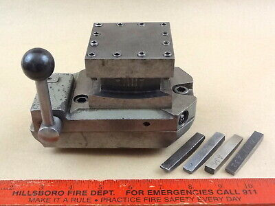 Original South Bend 9 Lathe Four Position Square Turret Tool Block Stc-105n
