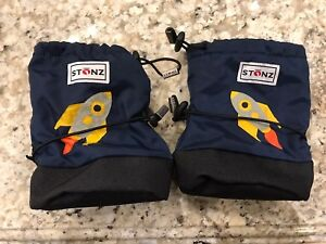Boys Med. Stonz Bootie Covers - worn once
