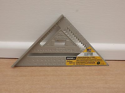 """JOHNSON 7"""" PROFESSIONAL ALUMINUM  RAFTER ROOFING ANGLE JOHNNY SQUARE"""