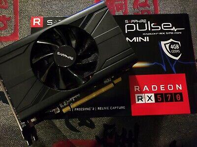 Sapphire Radeon RX 570 Pulse ITX 4GB GDDR5 mini - *OVP*