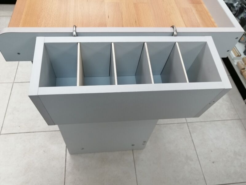 Jewelers Bench Organizer, with 5 dividers, for tools work orders etc. NEW
