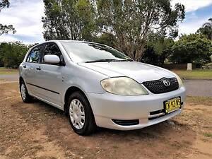 2003 Toyota Corolla Hatchback Ashtonfield Maitland Area Preview