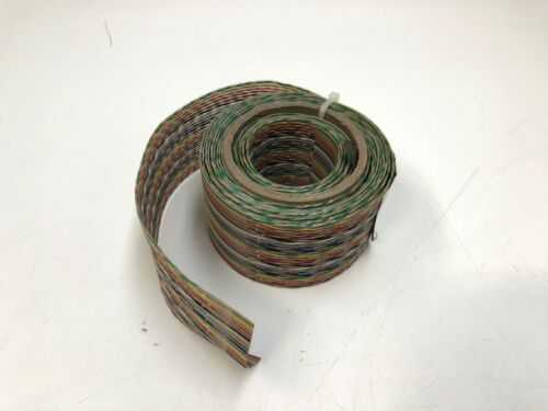 "BELDEN VARI-TWIST FLAT RIBBON CABLE 9V28050 119"" PARTIAL ROLL"